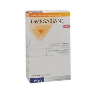 Pileje Omegabiane DHA - 80 capsules