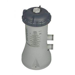 Intex 58604GS Filtre à cartouche type Éco 2270GS avec cartouche A et raccord Ø 32 mm 60 W 0,30 A 230 V/12 V 2270 l/h