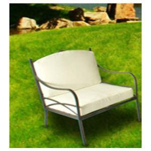 Art & Jardin 2 fauteuils de jardin Kulma en acier zingué