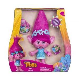 Hasbro Figurine Trolls Poppy musicale 22 cm