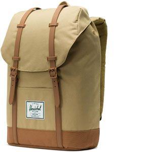 Herschel Retreat Backpack kelp/saddle brown