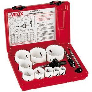 Virax 220907 - Coffret de 9 scies cloches