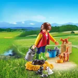 Playmobil 6139 Country - Famille de chats colorés