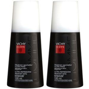 Vichy Homme - Déodorant 24h ultra-frais - 2 x 100 ml