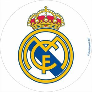 Disque azyme Real Madrid 20 cm