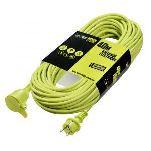 Masterplug Rallonge Électrique 40m 3G1,5 mm² IP44