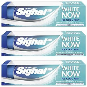 Signal Dentifrice Blancheur White Now Ice Cool Mint 75 ml