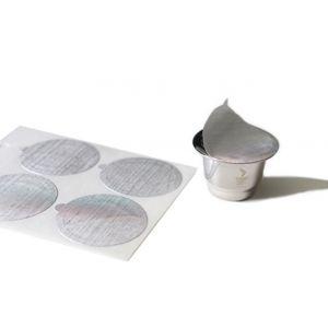 Gefu Capsule café 80 Opercules pour capsules de café CONSCIO