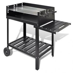 VidaXL VDX-40714 - Barbecue au charbon avec chariot