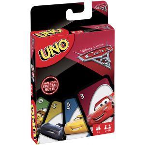 Mattel Uno Disney Cars 3