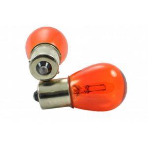Habill-auto 10 ampoules halogene BA15S / P21W orange 12V/21W S25