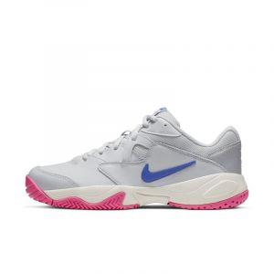 Nike Chaussure de tennis pour surface dure Court Lite 2 pour Femme - Argent - Taille 41 - Female