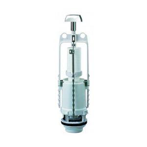 Siamp WC - Mécanisme double volume poussoir interrompable : 32 2250 07