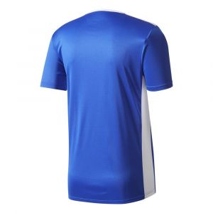 Adidas ENTRADA 18 JSY T- T-Shirt Homme, Bold Blue/White, FR : L (Taille Fabricant : L)