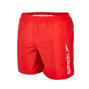 Speedo Scope, Short Homme, Rouge, FR : XL (Taille Fabricant : XL)