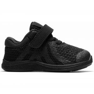 Nike REVOLUTION 4 VLC - NOIR / BLANC - Bébé - CHAUSSURES BASSES