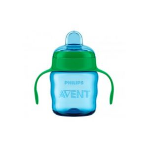 Philips Infantile Glass With Green Soft Mouthpiece 200 Ml 200 Ml