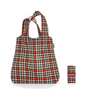 Reisenthel Mini Maxi Shopper glencheck Red Cabas de Fitness 60 Centimeters 15 Multicolore