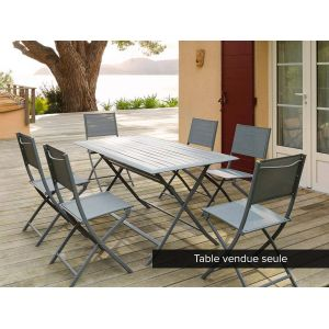 Hesperide Azua 6 places - Table de jardin rectangulaire 150 x 80 x 71 cm