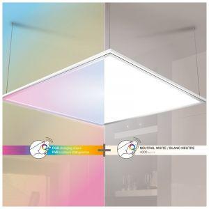 Xanlite Panneau LED blanc 60 x 60 cm RVB 24W