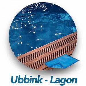 Ubbink Bàche à bulles pour piscine bois octogonale allongée Modèle - Lagon 5,50 x 4,00m octogonale allongée