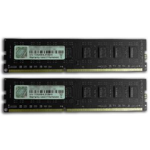 G.Skill F3-10600CL9D-4GBNS - Barrettes mémoire Value 2 x 2 Go DDR3 1333 MHz CL9 DIMM 240 broches