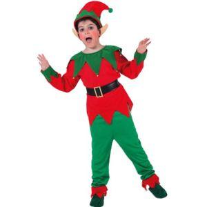 Déguisement Elfe-Lutin Noël unisexe (4 à 12 ans)