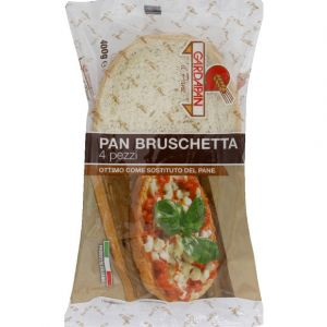 Gardapan Pain bruschetta, 4 parts - Le paquet de 400g