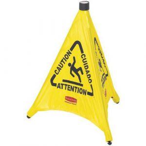 Rubbermaid Cône parapluie Pop Up 76,2 cm jaune,