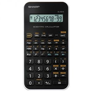 Sharp EL-501X - Calculatrice Scientifique