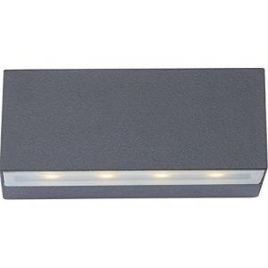 Globo Lighting Lampe d'extérieur NOAM LED gris 8 lumières