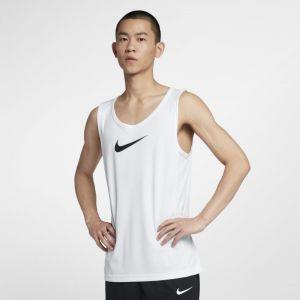 Nike Haut sans manche de basketball Dri-FIT pour Homme - Blanc - Taille L - Homme