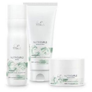 Wella Pack Nutricurls Cheveux Ondulés - Shampooing + Conditionneur + Masque