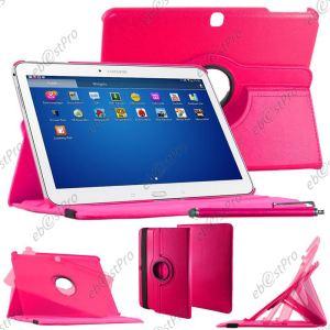 EbestStar Etui rotatif 360° en cuir avec stylet pour Samsung Galaxy Tab 4 10.1 SM-T530 / SM-T531 3G / SM-T535 LTE