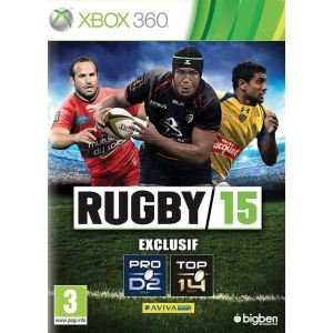 Rugby 15 sur XBOX360