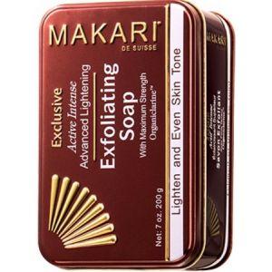 Makari Exclusive - Savon exfoliant éclaircissant