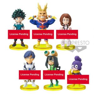 Banpresto My Hero Academia assortiment figurines WCF ChiBi 7 cm Vol.