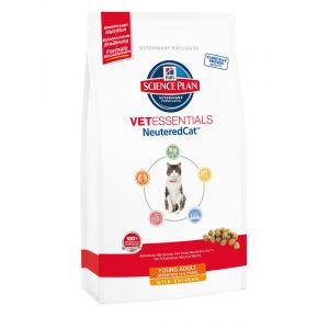 Hill's VetEssentials Neutered Cat Young Adult Poulet 1,5 kg