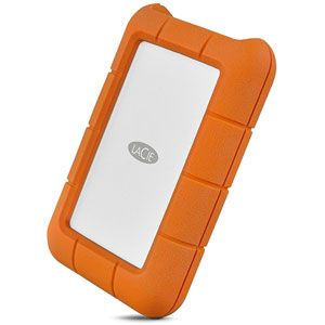 Lacie STFR5000800 USB-C - Disque dur portable Rugged 5 To USB 3.1 (USB-C)