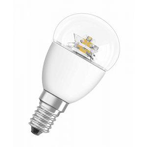 Osram Ampoule LED Star E14 4W=25W, blanc chaud, en forme de goutte
