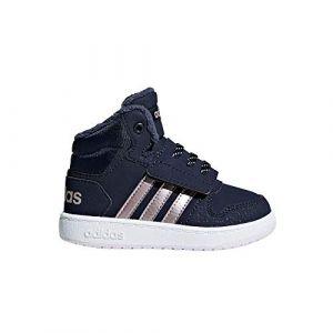 Adidas Hoops Mid 2.0, Baskets Mixte bébé, Blau Legink/Vagrme/Trablu, 27 EU