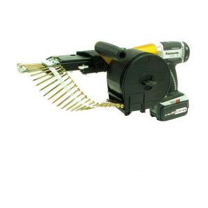 Alsafix Visseuse à chargeur sans fil 18 V 3,3 Ah PANASONIC pour vis en rouleaux HH 80 B MSC80A