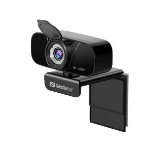 Sandberg Webcam USB Chat Webcam 1080P HD