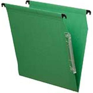 Majuscule Paquet de 25 dossiers suspendus M-First pour armoire (dos : V)