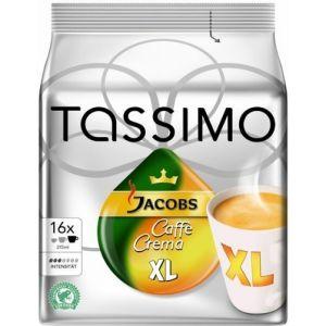 Tassimo 16 dosettes T-Discs Jacobs Caffe Crema XL