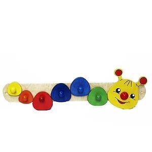 Hess-Spielzeug 30317 - Porte-manteau Chenille