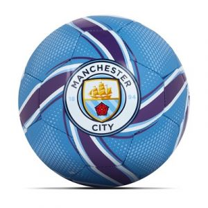 Puma Mini ballon de football Future Flare Manchester City - Bleu clair