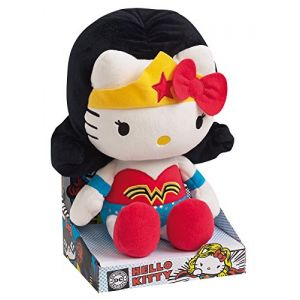 Jemini Peluche Hello Kitty Wonder Woman 27 cm