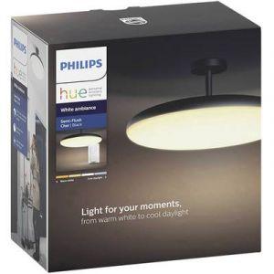 Philips Plafonnier Cher Suspension Hue Noir + Télécommandes