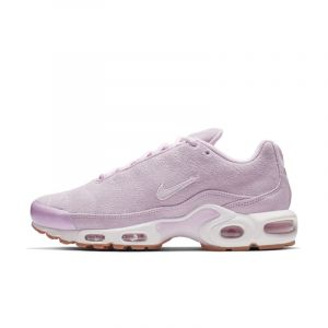 Nike Chaussure Air Max Plus Premium pour Femme - Rose - Taille 42.5 - Female